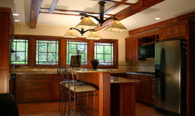 Prairie Style Ranch Remodel Kitchen Craftsman
