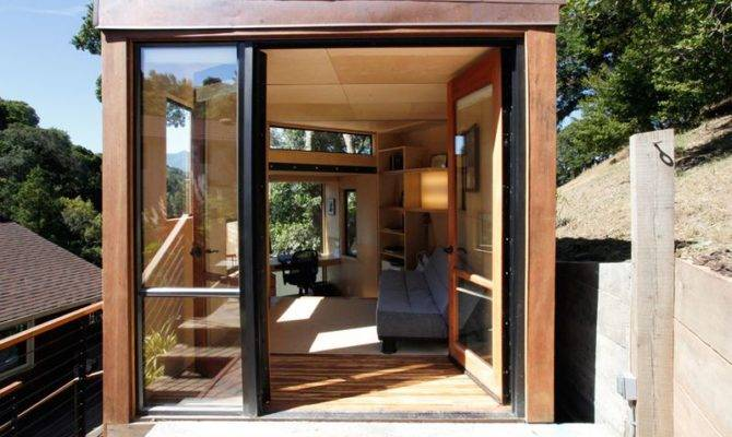 Prefab Green Home Office East Bay