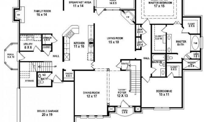 Pretty House Plans Bedrooms Bedroom Bath