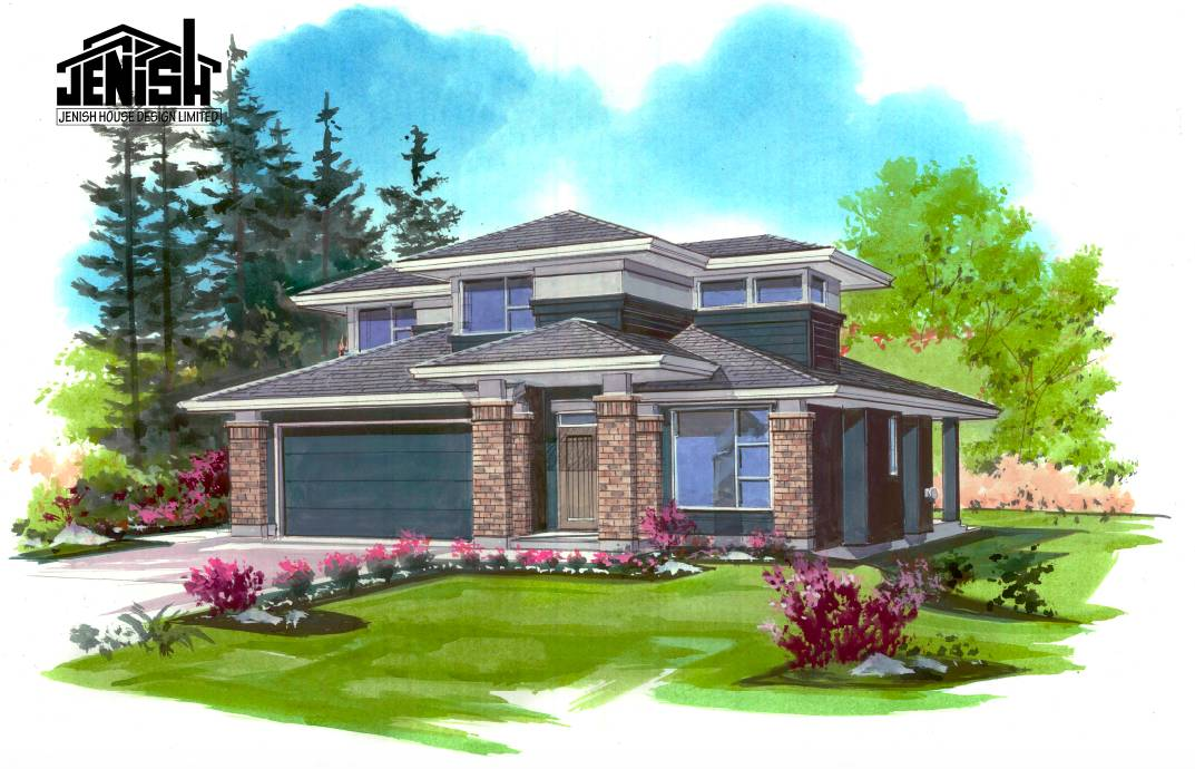 Priced Homes Okanagan Modern Storey Home Jenish