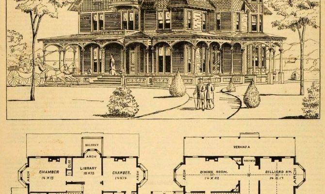 Print Victorian House Architectural Design Floor
