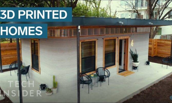 Printed Home Can Constructed Under Youtube