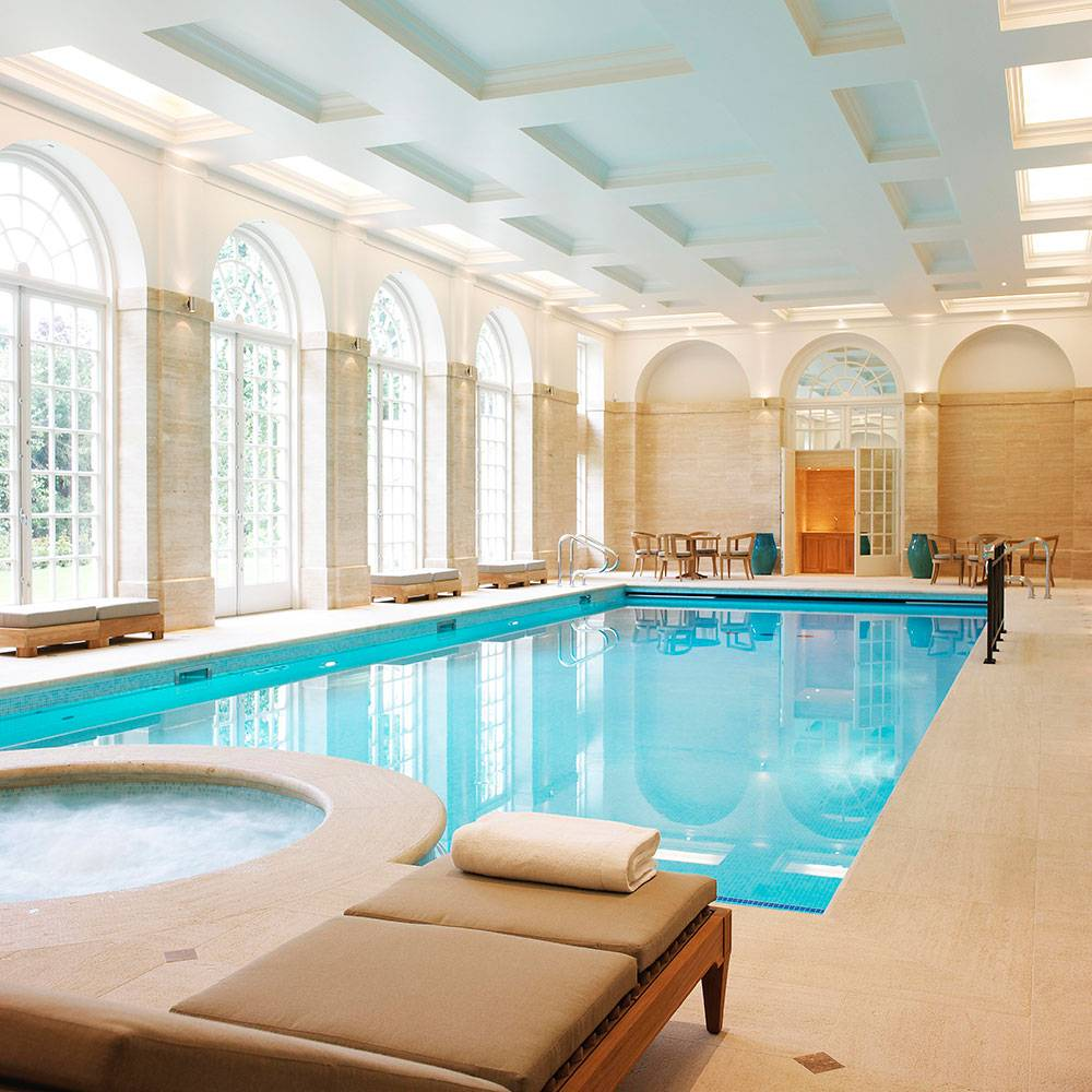 Private Indoor Swimming Pool Design Allstateloghomes