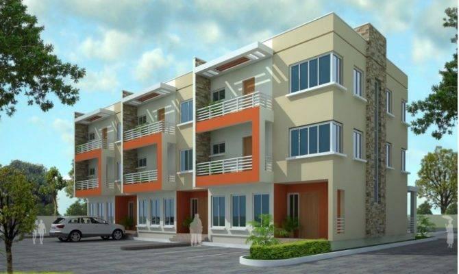 Proiecte Case Triplex House Plans