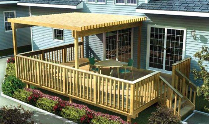 Project Plan Large Easy Raised Deck Trellis