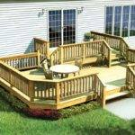 Project Plan Two Level Deck Angle Corners