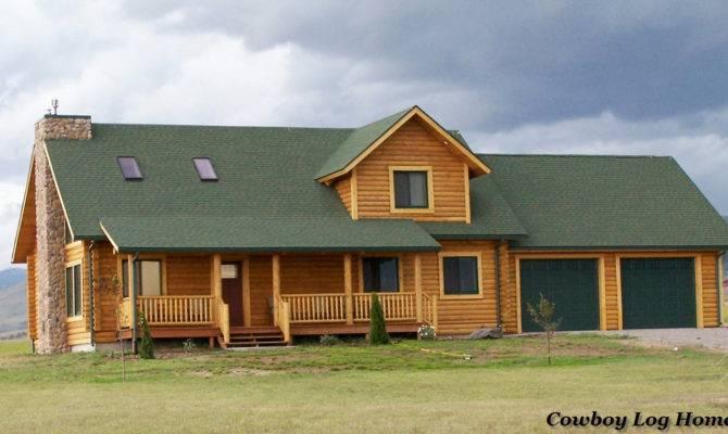 Prong Horn Floor Plan Square Feet Cowboy Log Homes