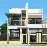 Prosperito Single Attached Two Story House Design
