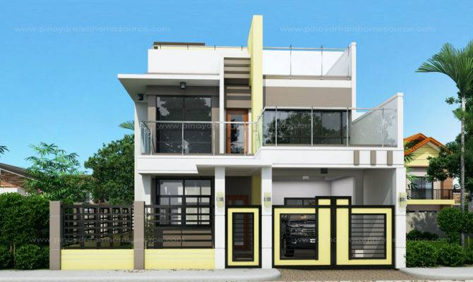 Prosperito Single Attached Two Story House Design