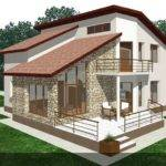 Protruding Balcony Modern House Plans Fine Accents