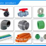 Pvc Pipe Large Diameter Plastic Types Water