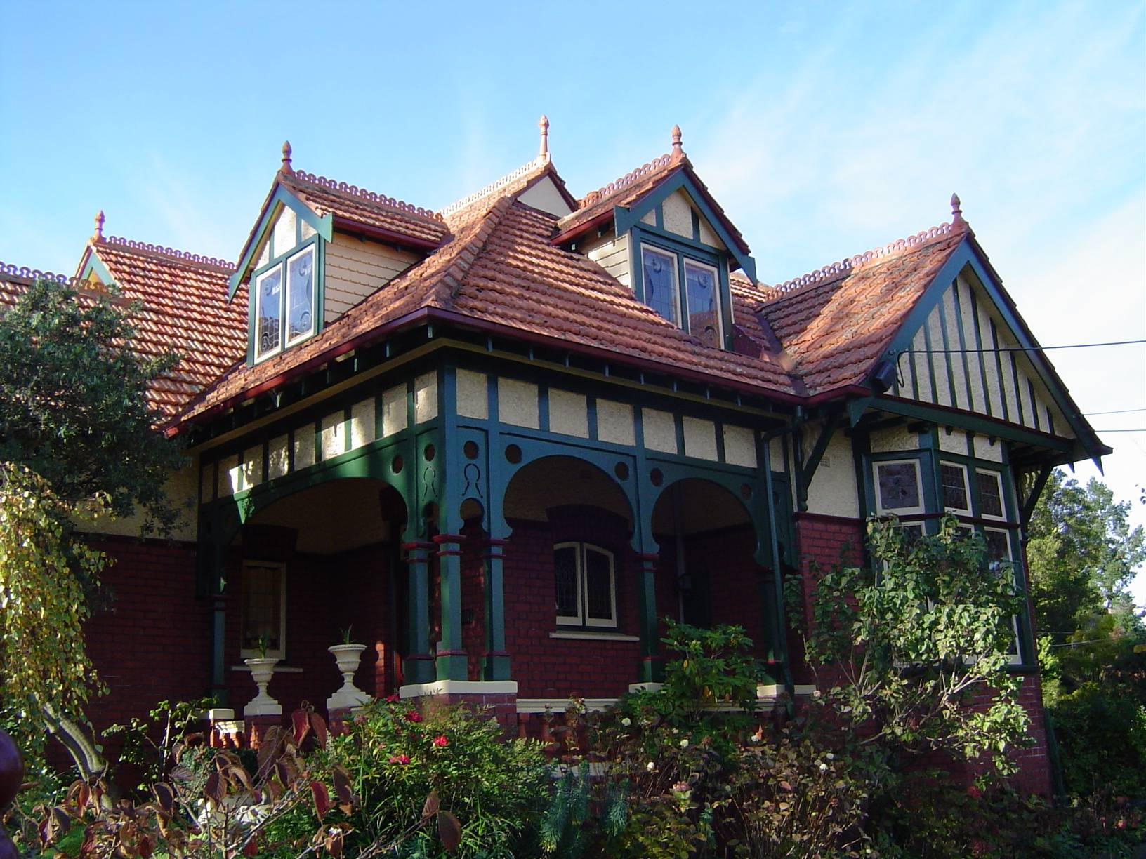 Queen Anne Style House Ivanhoe Victoria Wikimedia