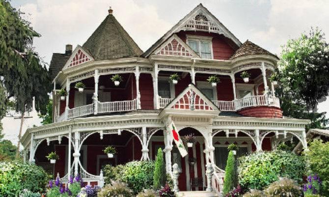Queen Anne Victorian Home Plans