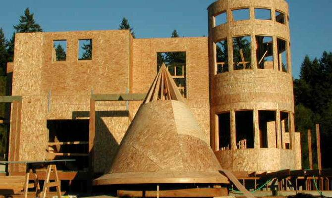Quittintime Turret Roof