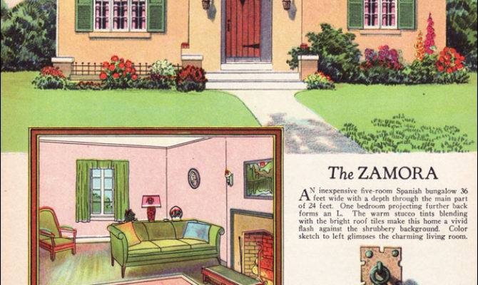 Radford Zamora Spanish Eclectic Style Small House