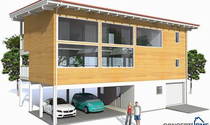Raised Beach House Plan Plans