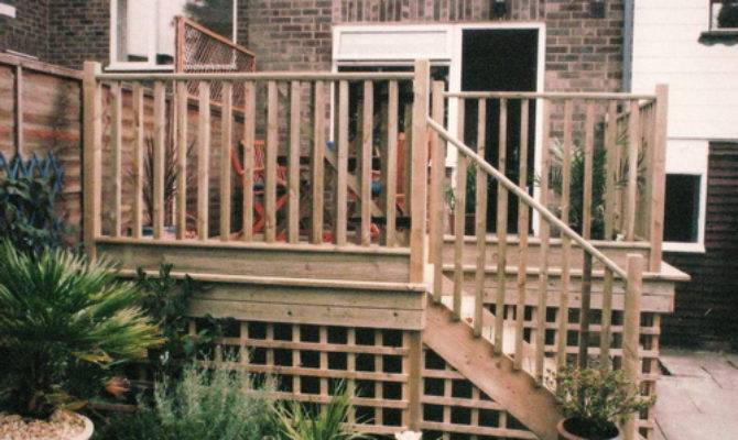 Raised Decking Design Brighton