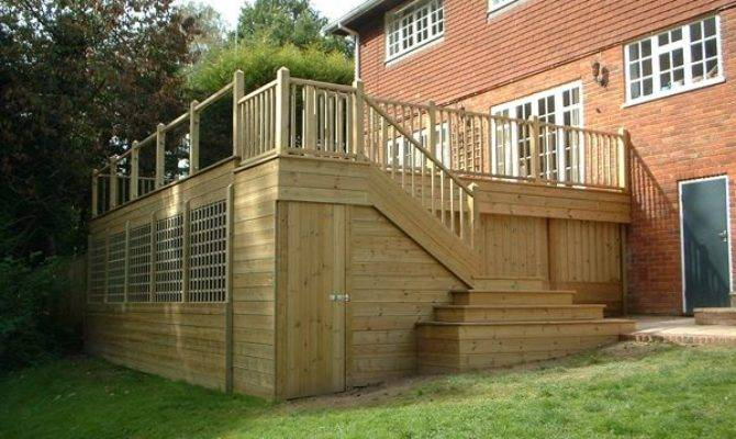 Raised Decking Design Ideas Mcmurray Fixs