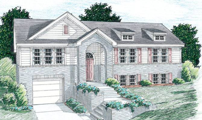 Raised Ranch Homes House Plans Car Tuning
