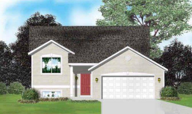 Raised Ranch House Plans Homes