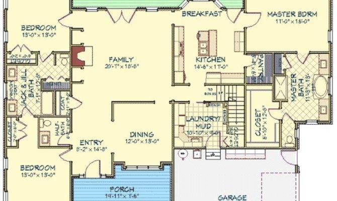 Rambler House Plans Bonus Room