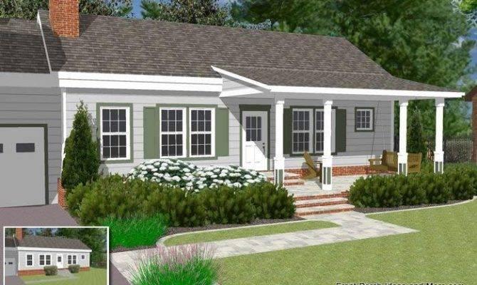 Ranch Front Porch Ideas Joy Studio Design Best