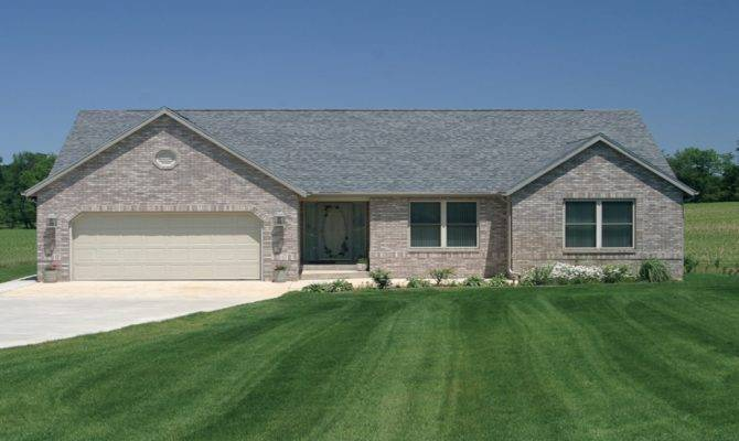 Ranch Home Exterior New One Story Homes Hollybridge