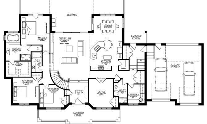 Ranch Home Floor Plans Walkout Basement Elegant