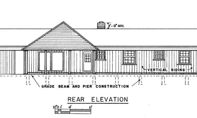 Ranch Home Plans Plan Front