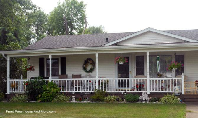 Ranch Home Porches Add Appeal Comfort
