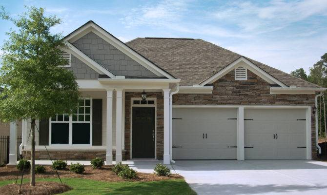 Ranch Homes Retirement Community Craftsman Style House Plans