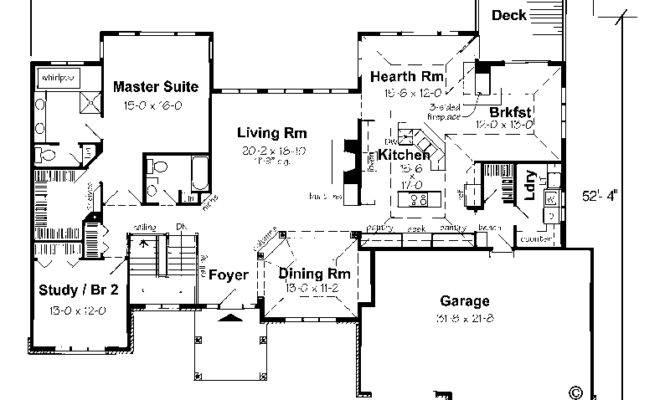 Ranch Homes Walkout Basements Floor Plans Pinterest