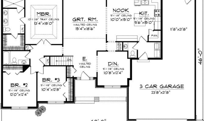 Ranch House Plan Floor Plans