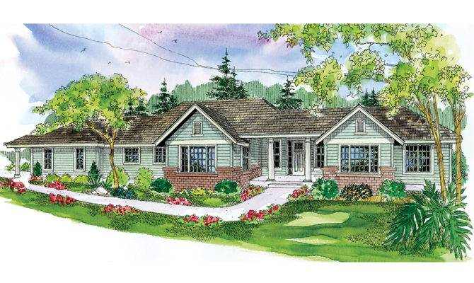 Ranch House Plan Home Parkdale