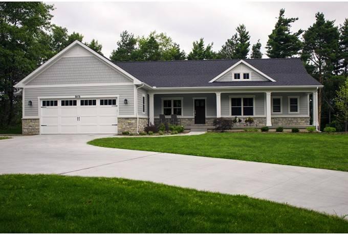 Ranch House Plan Open Finished Walkout Basement