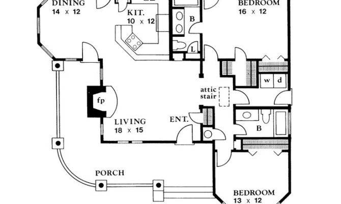 Ranch House Plans Country Home Plan Design