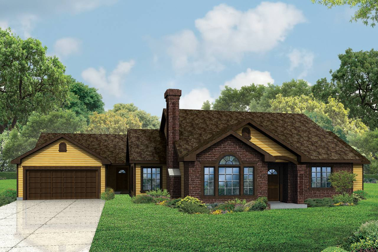 Ranch House Plans Darrington Associated Designs