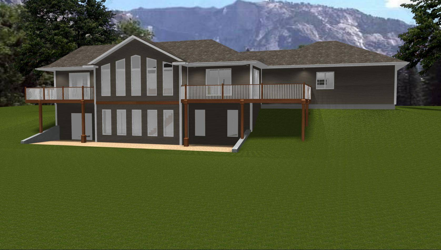 Ranch House Plans Designs