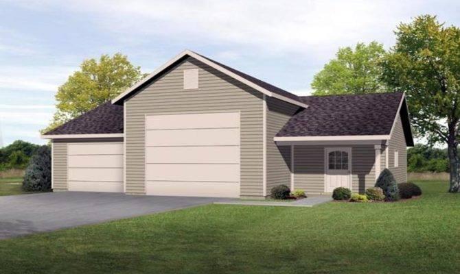 Ranch House Plans Detached Garage