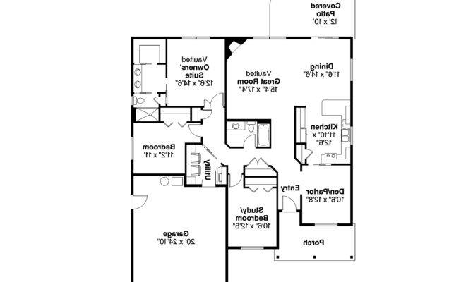 Ranch House Plans Eastford Associated Designs