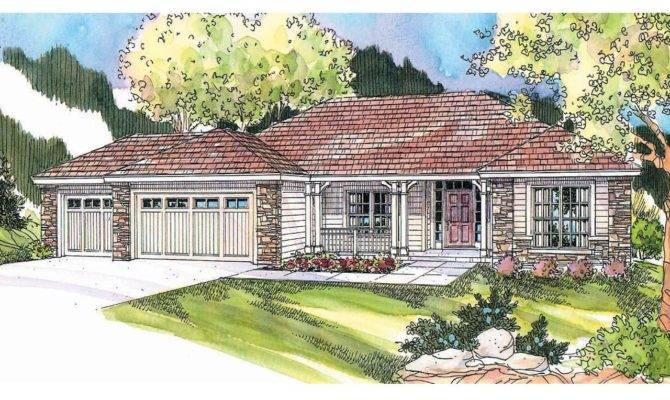 Ranch House Plans Fieldstone Associated Designs