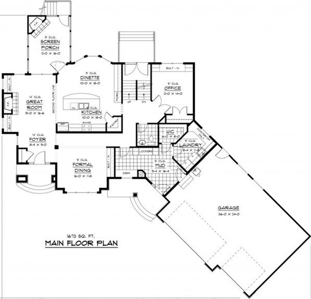Ranch House Plans Loft Unique