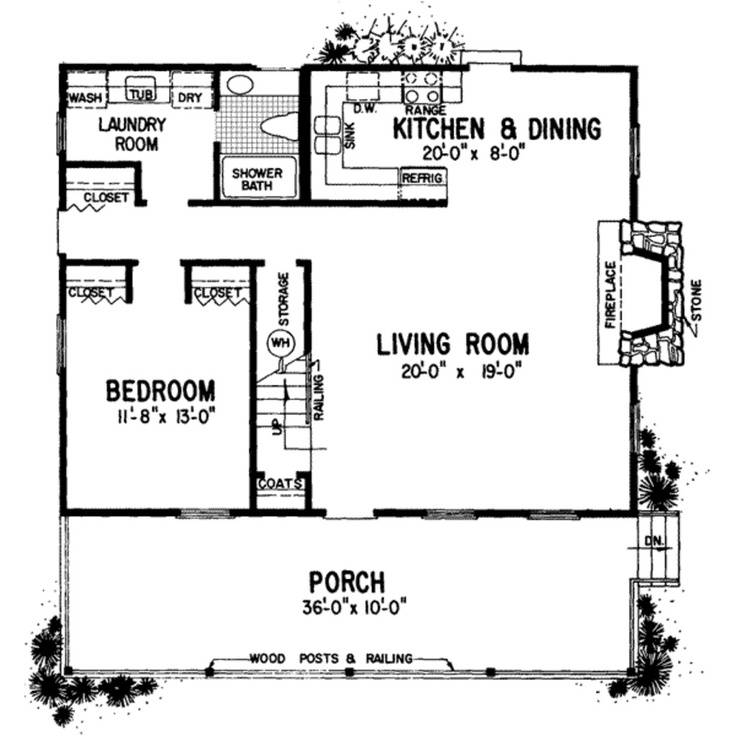 Ranch House Plans Mother Law Apartment Cottage