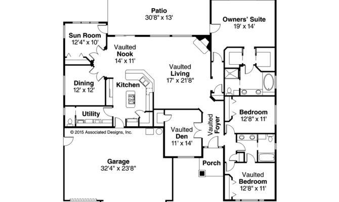 Ranch House Plans Ryland Associated Designs
