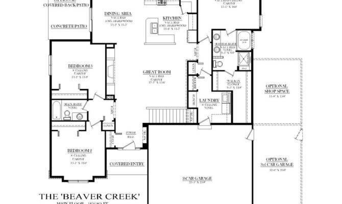 Ranch House Plans Split Bedrooms Cottage