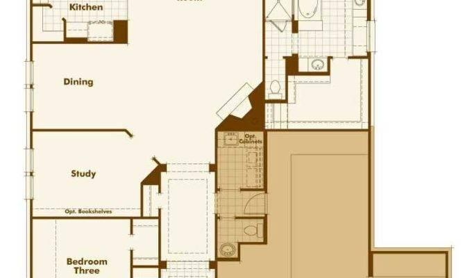 Ranch House Plans Tandem Garage