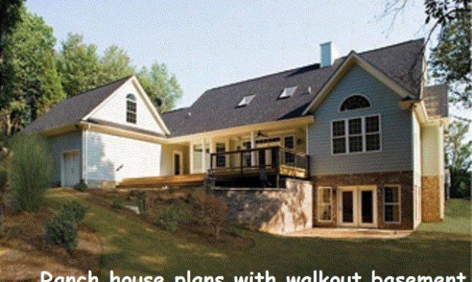 Ranch House Plans Walkout Basement Amazing Homes