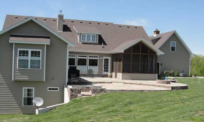 Ranch House Plans Walkout Basement Details