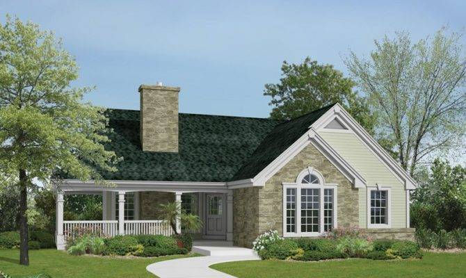 Ranch House Plans Wrap Around Porch Autumn Lakes Country