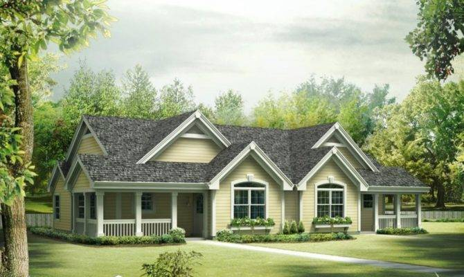 Ranch House Plans Wrap Around Porch Country